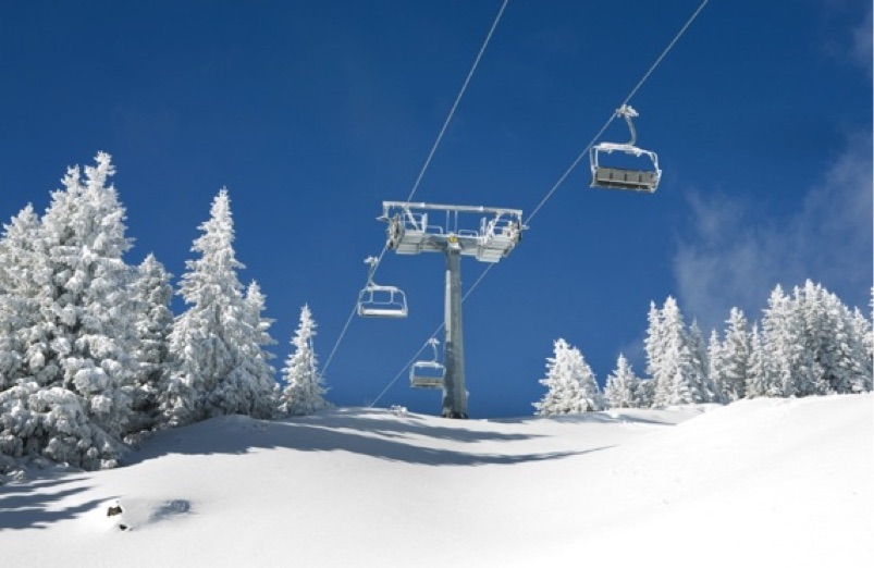 Colorado Springs Dodge >> California Ski Maps | Mt Baldy Ski Resort Trail Map