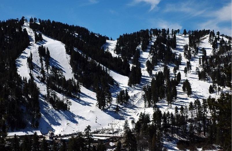 California Ski Maps Mountain High Ski Resort Trail Map